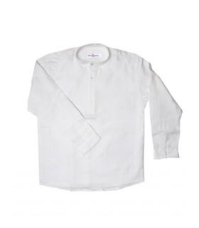 Camisa Gola Padre Branca