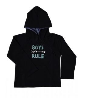 Sweat Capuz Menino Boys Rule
