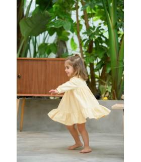 Vestido Amarelo Chloe