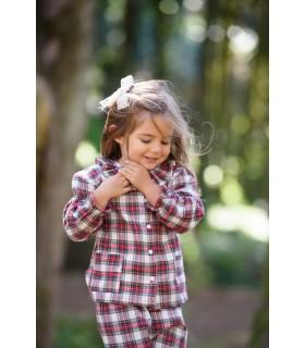 Girl Plaid Pyjama